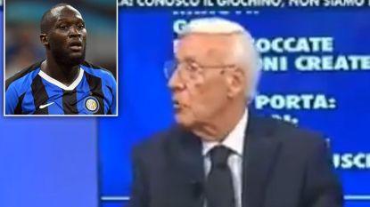 Italiaans tv-figuur praat voor het eerst sinds hij zwaar zijn boekje te buiten ging over Lukaku