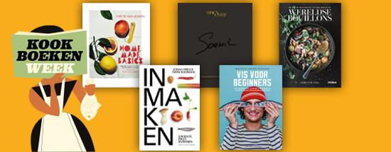 De vijf kookboeken die strijden om Het Gouden Kookboek.