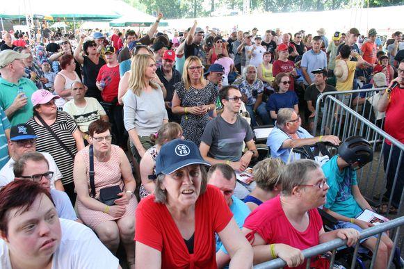 Door de te grote hitte wordt het festival uitgesteld