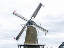 75 jaar bevrijding: Needse molen getooid met Britse, Canadese en Nederlandse vlaggen