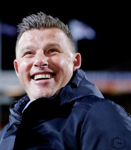 Trotse trainer Stegeman volgt lijn Ten Hag na plaatsing voor play-offs