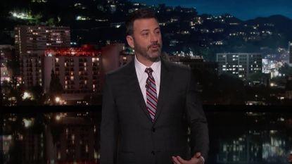 """Jimmy Kimmel tegen Trump: """"Hou geweren uit de handen van mensen die onze kinderen vermoorden"""""""