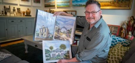 Tekeningen, schilderijen en boeken van Oosterbeek: 'Het dorp zit in mijn ziel'