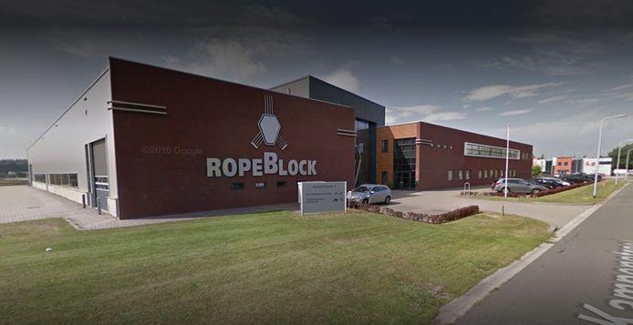 RopeBlock aan de Kampenstraat in Oldenzaal.