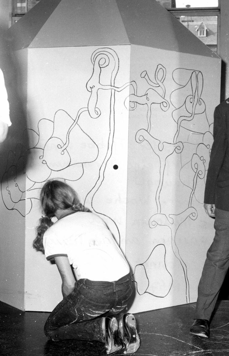 Tjebbe van Tijen, Continue Tekening, 1967 Beeld Stedelijk Museum