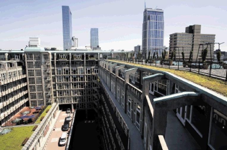 Groot Handelsgebouw in Rotterdam. (Ontwerp: Maaskant) Beeld