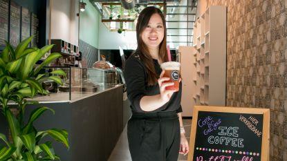 """De eerste zomer van Boba Eetcafé in de Stationsstraat: """"Heel blij om eindelijk onze bubble thee en bubble wafels te serveren"""""""