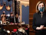 Nieuwe beelden tonen hoe bestormers Capitool op zoek gaan naar Nancy Pelosi