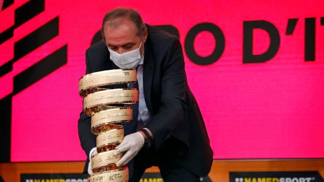 """Giro-organisator Mauro Vegni wil straffen voor Jumbo-Visma en EF na hun gedrag tijdens Ronde van Italië: """"Hier stopt het allemaal niet"""""""