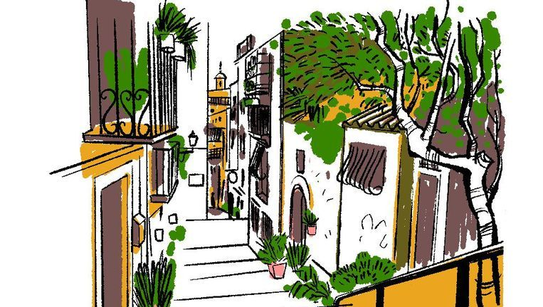 Het leven in Sevilla speelt zich vooral op straat af. Beeld Luis Mendo