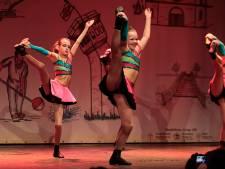 Tjokvolle zaal voor dansgardes