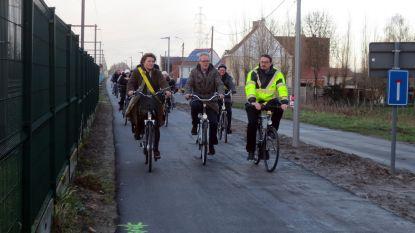 Halve meter fietspad per dag