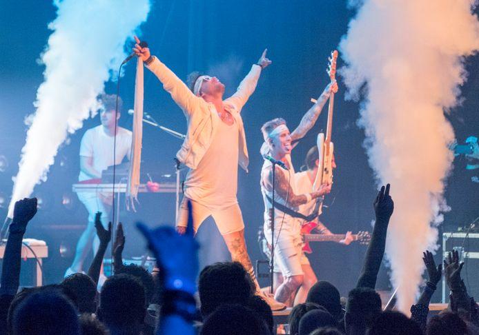 Dirty daddies tijdens een optreden op Aemstie Alive in 2019.