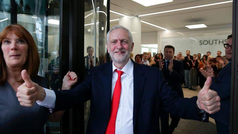 Jeremy Corbyn Beeld afp