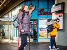 Melissa (15) houdt van Spijkenisse. 'Het is hier allemaal wat kleiner dan in Rotterdam'