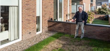 Vink gebruikte deel vervuild zand wél onder tuinen en tuinterrassen in Barneveld