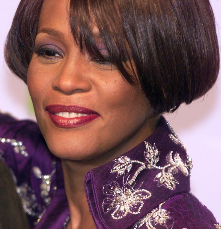 Whitney Houston Beeld Joel Saget