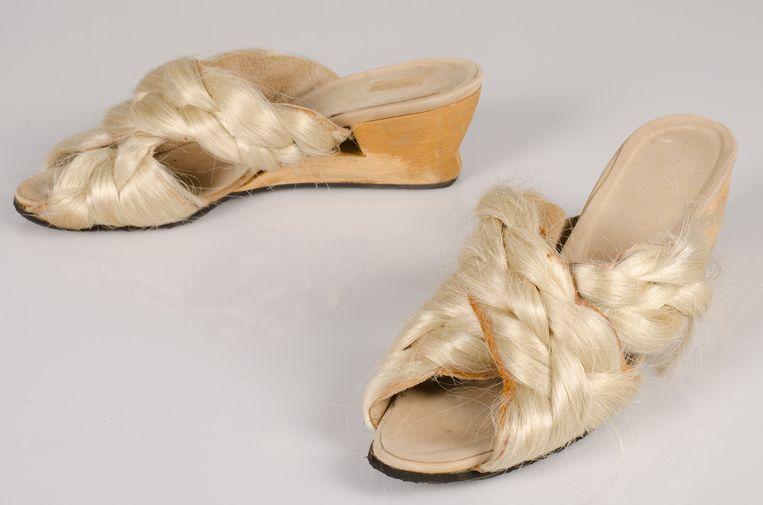 Schoenen van Lola Pagola. Beeld Collectie Centraal Museum, Utrecht; schenking 1998
