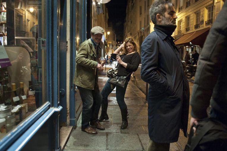 Het leven in Parijs gaat gewoon door. Beeld An-Sofie Kesteleyn / De Volkskrant