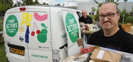 Puur Betuws en Werkzaak bezorgen streekproducten aan huis; lokaal, sociaal én lekker