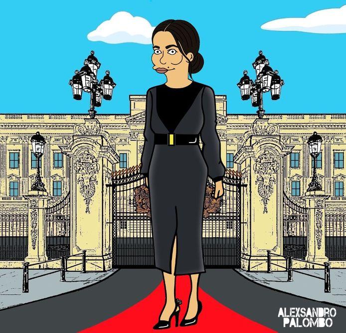 L'artiste italien AleXsandro Palombo a déjà imaginé la version animée de Meghan Markle.