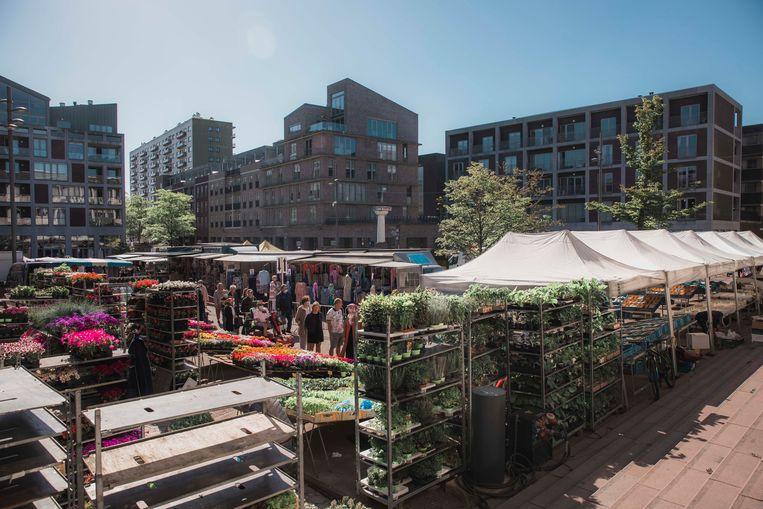 Donderdagmarkt in Genk.