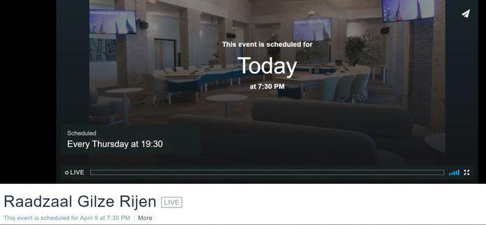 Livestream Gilze en Rijen