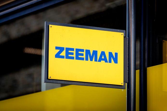 Exterieur van Zeeman.