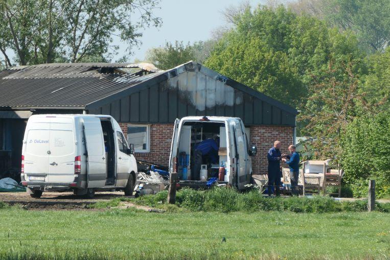 HOMBEEK (Mechelen) - De brand richtte aanzienlijke schade aan. Zondag werden de installaties met spoed hersteld.