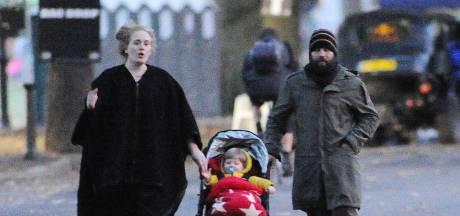 'Adele en ex-man zagen elkaar soms weken niet'