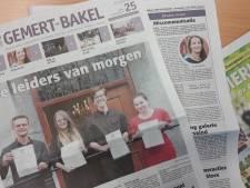 Weekblad Gemert-Bakel stopt ermee