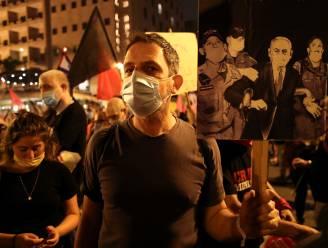 Opnieuw tienduizenden mensen op straat tegen Netanyahu in Israël