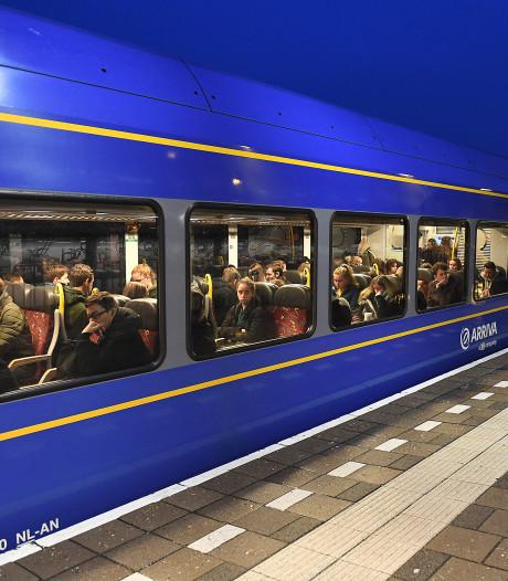 Wéér een defecte trein op de Maaslijn, treinverkeer plat tussen Nijmegen en Venray