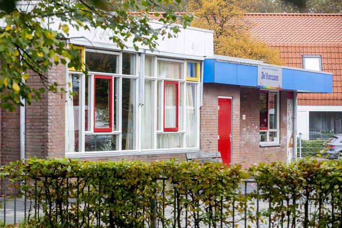 De basisschool De Voorzaan in Zaandam, waar de docent lesgaf.