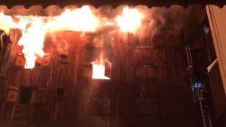 """VIDEO. Grote brand in ski-oord Courchevel: """"5 gewonden, chaotische toestand"""""""