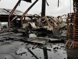 Ravage op Nijmeegs bedrijventerrein na vernietigde trailers