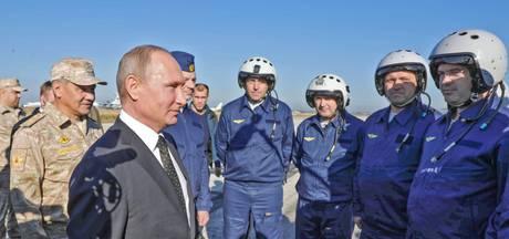 Poetin tijdens bliksembezoek aan Syrië: beginnen met Russische terugtrekking