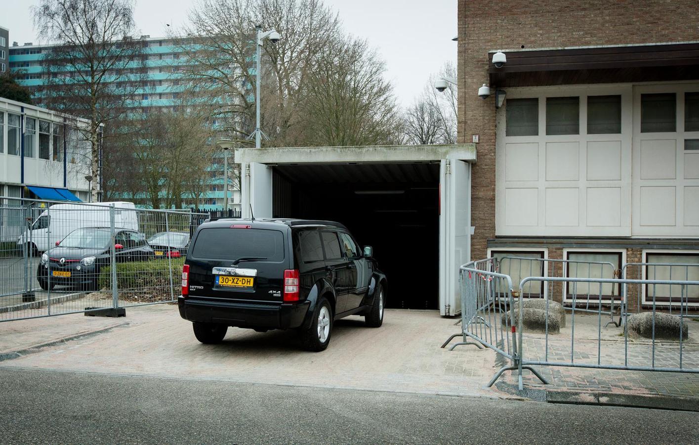 De zaak tegen Murat K. werd behandeld bij de Amsterdamse rechtbank de Bunker in Osdorp.
