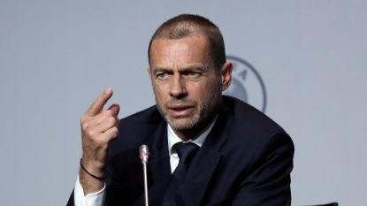 """UEFA-voorzitter: """"Belgen beseffen dat ze verkeerd gehandeld hebben"""""""