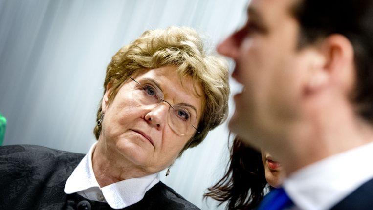 Mariana Campeanu, Roemeense minister van arbeid, begrijpt de weerstand tegen haar landgenoten niet. Beeld anp