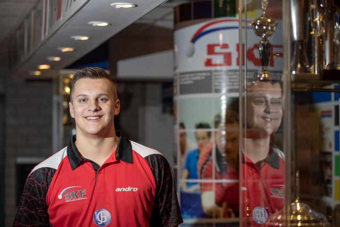Jeffrey Vonk op archiefbeeld. Samen met Floris zur Muhlen en Pieter van den Berg won hij van Red Stars.