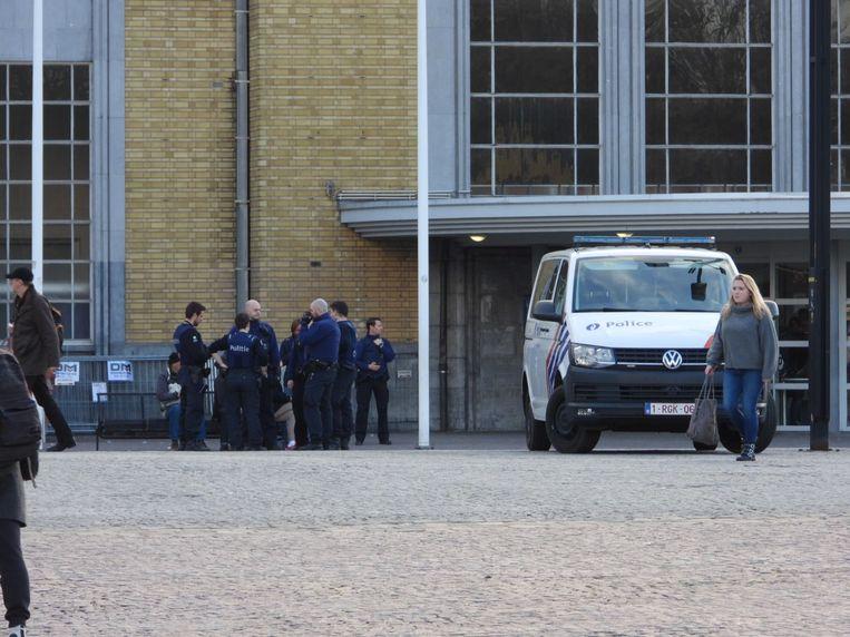 De politie hield begin dit jaar extra controles aan het station