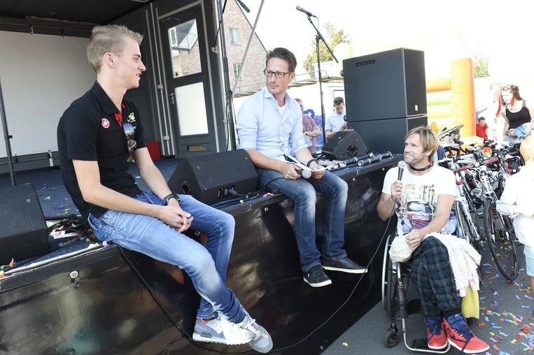 Marc Herremans, die andere triatleet die in Wuustwezel woont, interviewt Marten Van Riel.