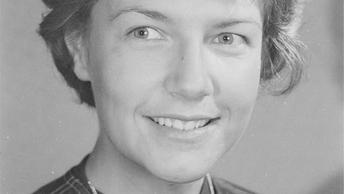 Annet Nieuwenhuijzen in 1966.