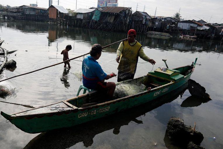 Visserboot op de Filipijnen.