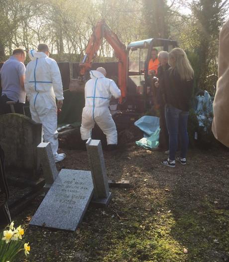 Stoffelijke resten opgegraven van onbekende vrouw in Zeeland