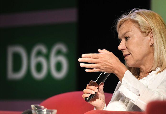 Sigrid Kaag, de nieuwe lijsttrekker van D66.