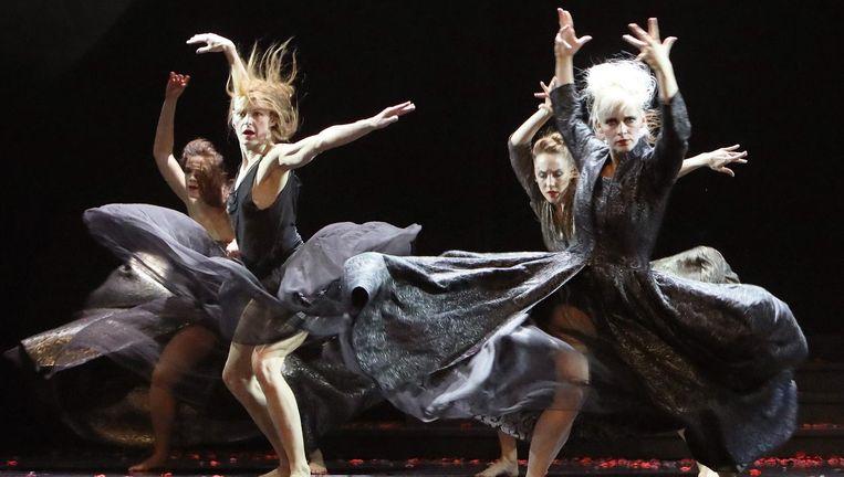 Scala door Scapino Ballet Rotterdam en Combattimento. Beeld Hans Gerritsen