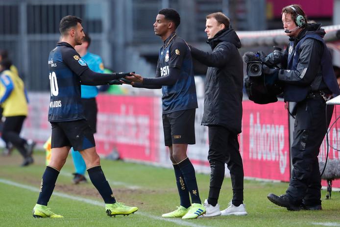 Alexander Isak maakte vorige week zijn debuut namens Willem II.