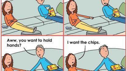Herkenbaar? Cartooniste maakt hilarische strips over hoe een huwelijk er écht uitziet